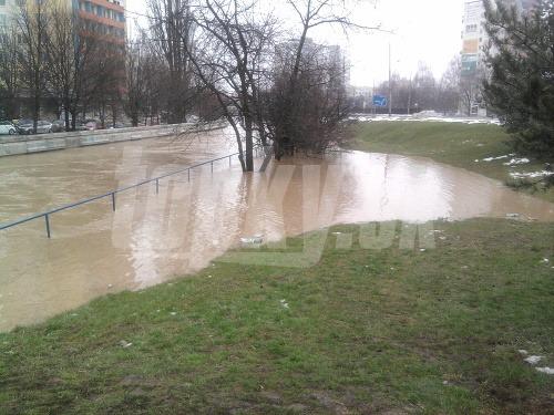 Povodeň v Leviciach. Foto