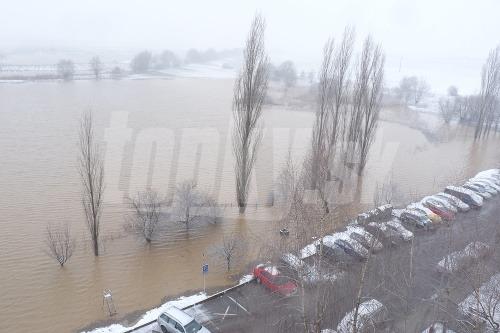 Povodeň, Bánovce nad Bebravou.