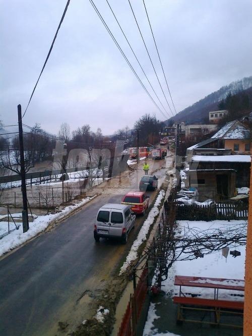 Prívalová vlna v obci