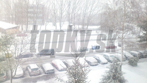 Snehové kalamity počas veľkej