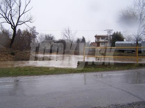 Povodňová situácia - Bánovce