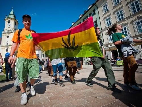Bratislava Million Marihuana March
