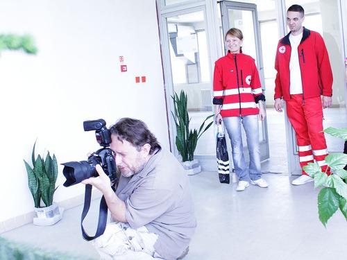 Aj fotograf Martin Črep