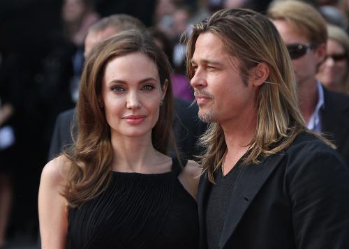 Angelina Jolie po boku