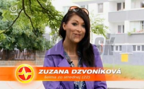 Zuzana Dzvoníková sa objavila