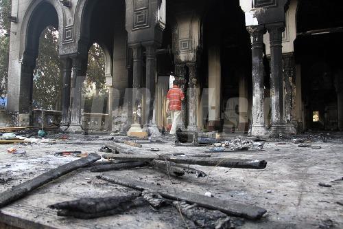 V káhirskej mešite ležia