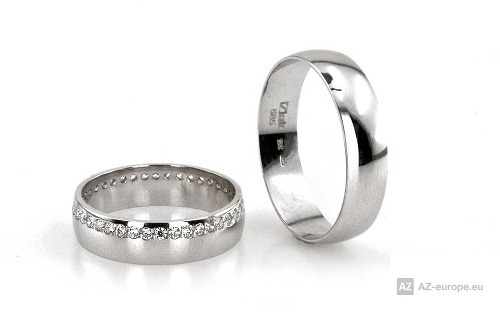 4514d80e1 Najväčší výber zásnubných prsteňov a svadobných obrúčok na AZ-europe ...