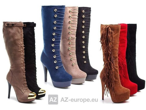 Trendy topánky na jeseň zimu 2013 v internetovom obchode AZ-europe ... b5c41975feb