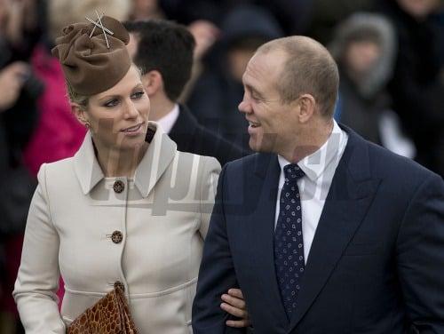 Zara Tindall s manželom