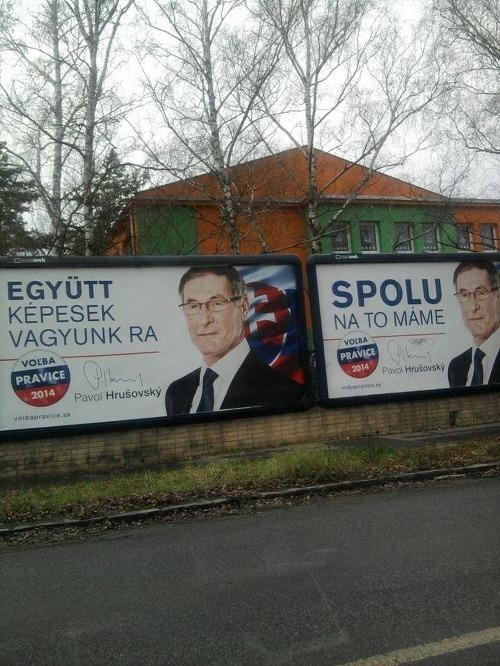 Hrušovského kontroverzná kampaň na