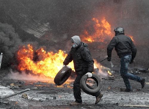 Protesty na Ukrajine