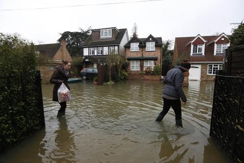 Veľké záplavy v Británii