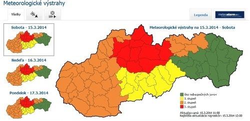 Slovensko trápi silný vietor:
