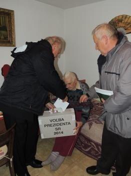 Najstarší obyvateľ obce Ostrý