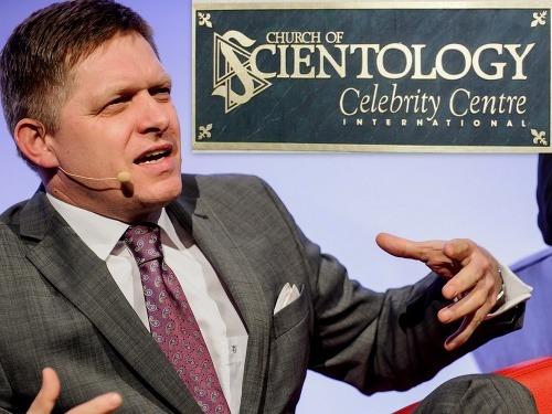 Robert Fico považuje scientológov