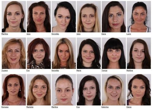 Zoznam žien a mužov,