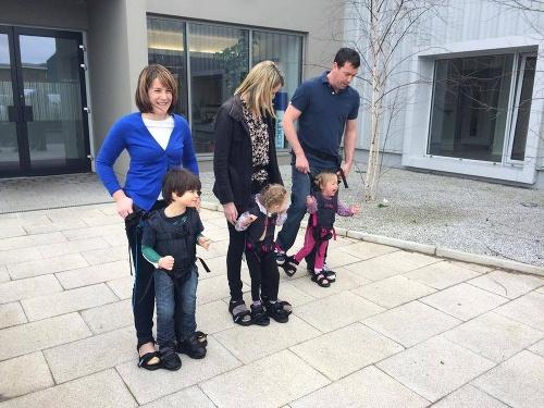 Detičky s mozgovou obrnou