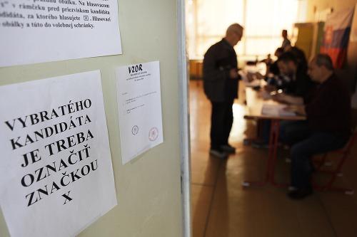 Voľby na ZŠ Ďumbierska