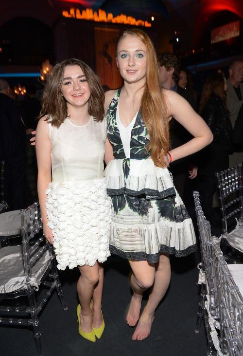 Maisie Williams a Sophie