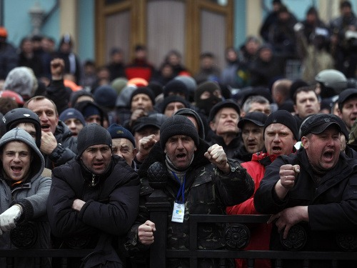Nepokoje na Ukrajine