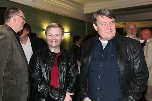 Ladislav Štaidl so synom
