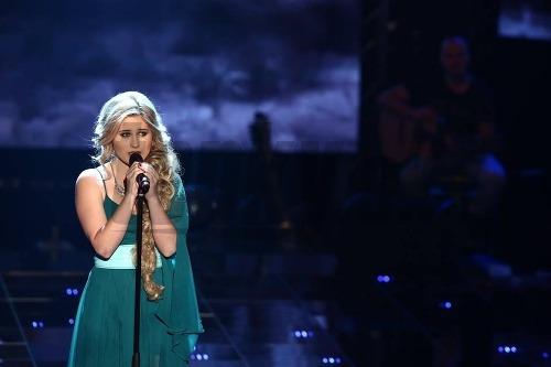 Eliška Mrázová spievala skladbu