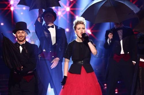 Kristína Mihaľová spievala skladbu