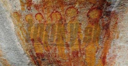 Mimozemšťania na indických nástenných