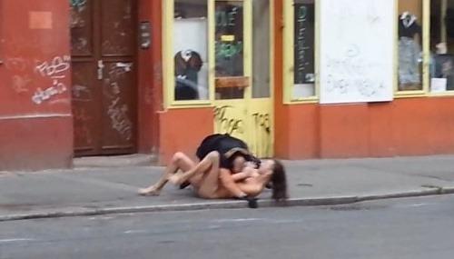 Erotický rozruch v Prahe: