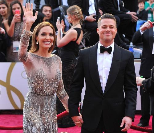 Angelina Jolie a Brad