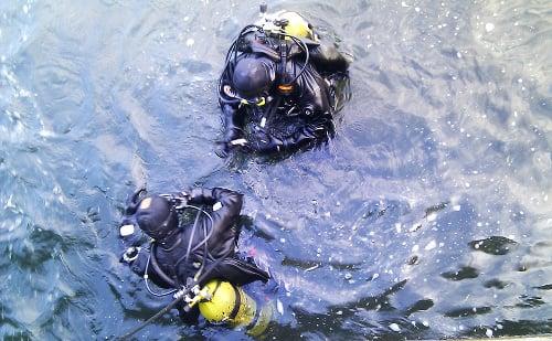 Potápači našli pri Šamoríne