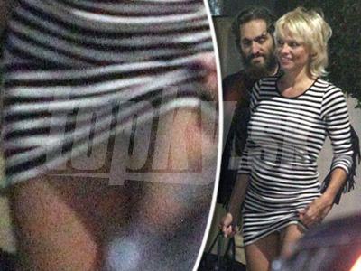 Neopatrná Pamela Anderson si