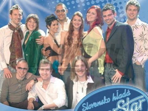 Finalisti prvej série SuperStar