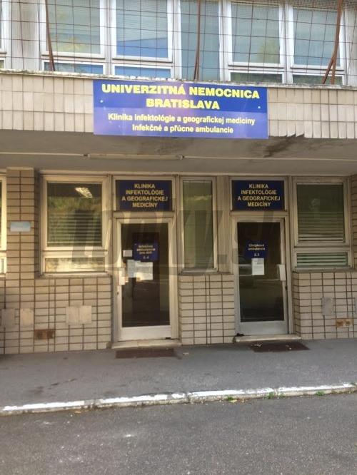 Infekčné oddelenie nemocnice na