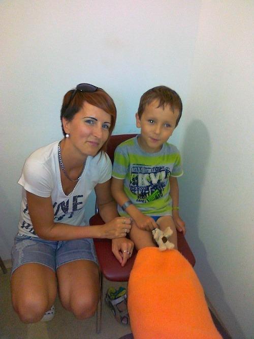 Tobiasko vďaka pomoci absolvoval