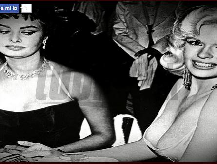 Sophia Loren a Jayne