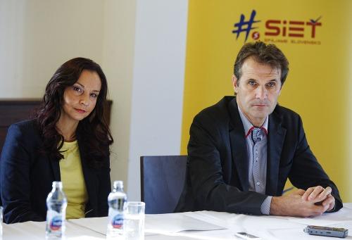 Alena Bašistová a bývalý