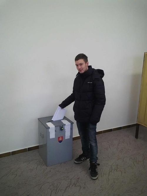Prvovolič Daniel Ilenčík