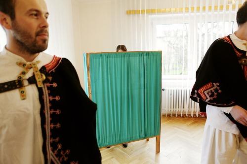 Priebeh volieb v obci
