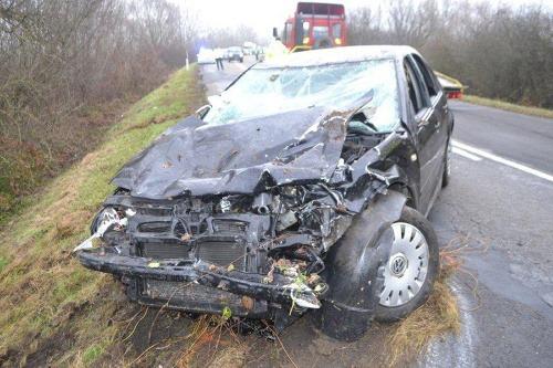 Pri dopravnej nehode medzi