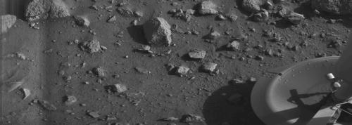 Prvá fotografia z Marsu