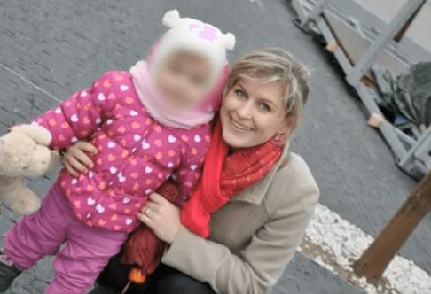 Anna so dcérkou Hankou