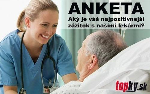 Pacienti hodnotili zdravotníctvo: Veľké