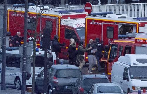 Teroristický útok na obchod