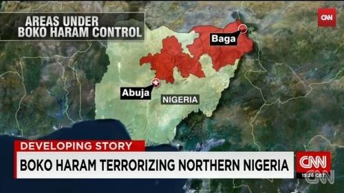 Územie ovládane teroristami z