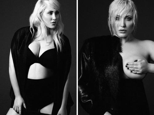 Hayley Hasselhoff nafotila dráždivé