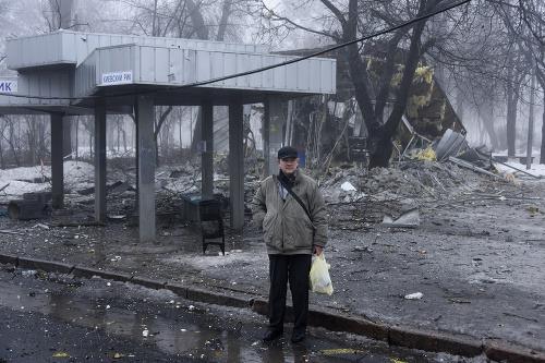 Výbuch na autobusovej zastávke