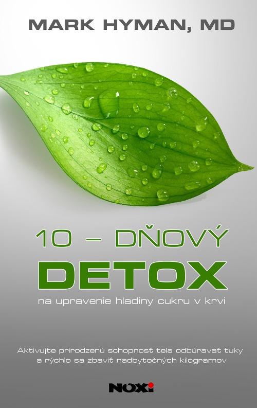 Obal knihy 10-dňový detox.