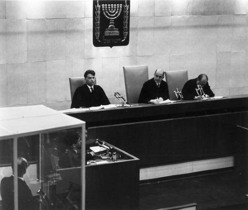 Adolf Eichmann na súde