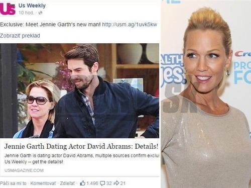 Jennie Garth vraj randí